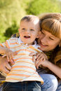 Mother And Child Stock Images - 5263214