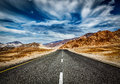 Road  In Himalayas With Mountains Royalty Free Stock Image - 52651976