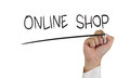 Online Shop Royalty Free Stock Photo - 52656395