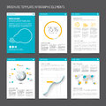 Set Of Modern Brochure Flyer Design Templates Royalty Free Stock Photo - 52673015