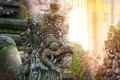 Balinese Stone Sculpture Art And Culture Stock Photo - 52673720