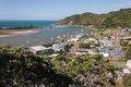 Aerial View Of Whakatane Town And River Stock Images - 52676054