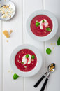 Soup From Beet Stock Photos - 52676743