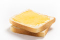 Two Slices Of Bread With Honey Royalty Free Stock Image - 52676796
