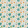 Kitchen Seamless Pattern. Vector Background. Stock Photos - 52677013