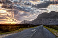 Road To The Mountains Royalty Free Stock Images - 52677619