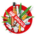 No Drugs Stock Photography - 52687162