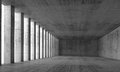 Empty Interior And Concrete Walls And Columns, 3d Stock Images - 52695884