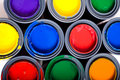 Cans Of Paint Stock Images - 5270884