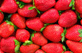 Strawberry Background - Tasty But Risky Royalty Free Stock Photos - 5273338