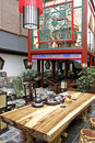 Chinese-style Teahouse. Royalty Free Stock Photography - 5274307