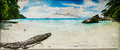 Beach Vintage Panorama Royalty Free Stock Images - 52700499