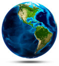Planet Earth White Isolated Stock Photo - 52702710