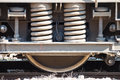 Industrial Rail Car Wheels Royalty Free Stock Photo - 52703435
