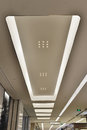 Led Ceiling Of Modern  Plaza Hall Royalty Free Stock Photo - 52709185
