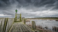 Storm Clouds Over The Old Port Of Schokland, Netherlands Royalty Free Stock Images - 52713599