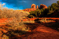 Cathedral Rock Stock Photos - 52722643