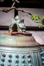 Japanese Temple Bell Nijo Castle, Kyoto, Japan Royalty Free Stock Photography - 52723077