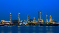Oil Refinery Factory Stock Images - 52724164