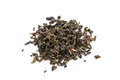 Dry Black Tea Leaves Isolated Royalty Free Stock Image - 52745346