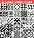 Universal Different Vector Seamless Patterns Royalty Free Stock Photo - 52761325
