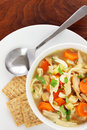 Chicken Noodle Soup Stock Photography - 52769232