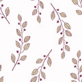 Seamless Pattern Background With Branch Royalty Free Stock Photo - 52770105