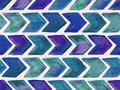 Vector Seamless Watercolor   Pattern With Arrows Stock Photos - 52791843
