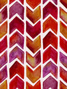 Vector Seamless Watercolor Geometric  Pattern Royalty Free Stock Photos - 52791918