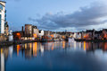 Harbour At Twilight Stock Image - 52794431