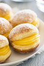 Bolos De Berlim Or Berlin Balls, Fried Dough With Sweet Egg Royalty Free Stock Photography - 52796537