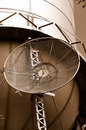 Microwave Antenna On Water Tank Stock Images - 5286044