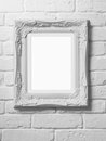 Blank Picture Frame Stock Photo - 52828290
