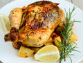Roasted Chicken Royalty Free Stock Image - 52829726