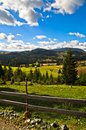 Mountain Road And Landscape At Autumn Sunny Day, Radocelo Mountain Stock Image - 52832241