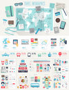 Travel Infographic Set Stock Images - 52835524