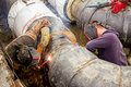 Welders At Work Stock Images - 52838144
