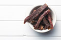 Spice Beef Jerky Royalty Free Stock Image - 52842766