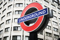 London Underground Tube Stations Operated By TFL Royalty Free Stock Image - 52850116