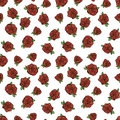 Pattern With Red Roses. Stock Image - 52868281