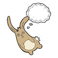 Funny Cartoon Rabbit With Thought Bubble Royalty Free Stock Image - 52944046