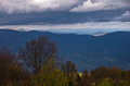 Landscape Of Radocelo Mountain With Dark Clouds Before A Storm Stock Photos - 52995883