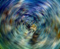 Spinning Blue And Green Stock Image - 5304841