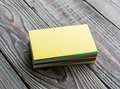 Colorful Business Cards Royalty Free Stock Photos - 53002878