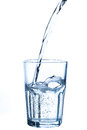 Pouring Water Into Glass Royalty Free Stock Photography - 53003497