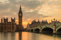 Big Ben At Sunset Royalty Free Stock Photos - 53010328