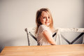 Happy Cute Toddler Girl Playing At Home In Kitchen Royalty Free Stock Image - 53017926