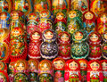 Russian Matryoshka Dolls Stock Image - 53029351