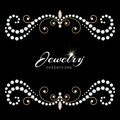 Jewelry Frame Royalty Free Stock Photography - 53043617