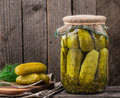 Jar Of Pickles Royalty Free Stock Image - 53047626